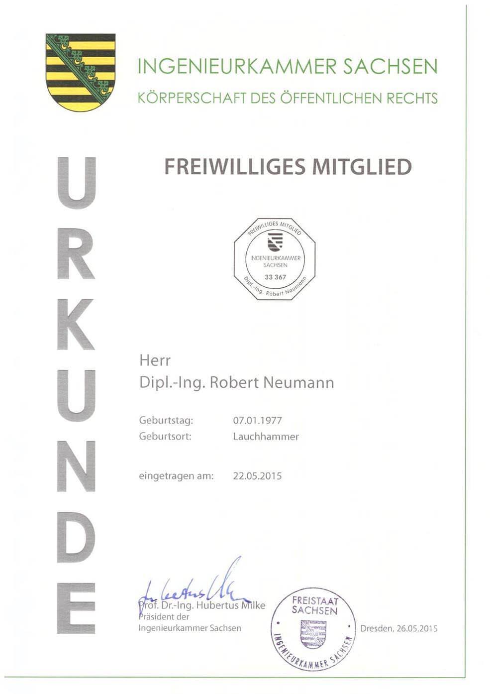 Mitglied-Ingkammer